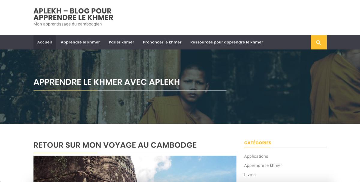 Apprendre le khmer