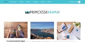 Réalisation du site www.princessekrama.com